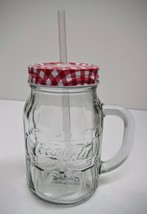 Coca-Cola Mason Jar (20oz) - BRAND NEW - $4.94