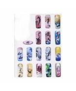 Airbrush STENCIL  Designs  Nail art Sports Theme #A5 - $7.67