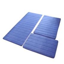Bath Mat 3Pcs/set Memory Foam Rug Anti-Silp Floor Bathroom Carpet Toilet... - $38.99