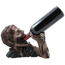 1 X Decorative Graveyard Zombie Wine Bottle Holder Statue for Scary Hall... - $32.98