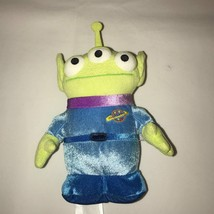 "Toy Story 2 Alien Green/Blue ""The Claw"" Plush Toy Disney/Pixar - $12.16"