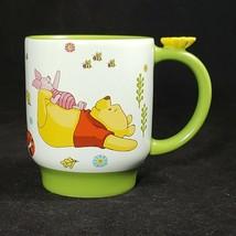 The Disney Store Winnie the Pooh Piglet Eeyore 3D Flower Handle Coffee M... - $23.71