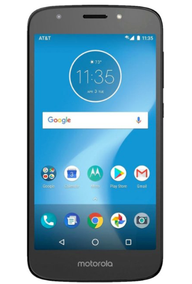 Primary image for AT&T Prepaid - Motorola MOTO E5 Play with 16GB Memory Prepaid Cell Phone - Black