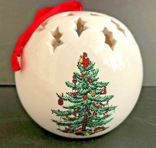 SPODE Christmas Tree Fragrance Potpourri Pomander Ornament with Red Velv... - $24.74