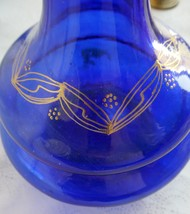 Cobalt Blue Candle Holders, Filigree Storage/Trinket Box, Wick Burner, M... - $69.99