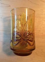 Vintage 70s Libbey Golden Wheat amber juice glasses- set of 3 image 3