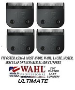 4-WAHL ULTIMATE COMPETITION 15 BLADE Pet Grooming Fit Most Oster,Andis C... - $110.17