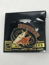 NHL Phoenix Arizona Coyotes VTG Logo Pin Peter David Puck Coyote New NOS - $11.83