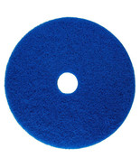 """Blue Scrubbing Floor Pad - Case of 5 - 11"""" with 3 1/4"""" opening NIB - $24.99"""