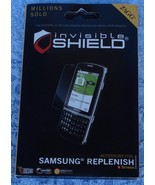 Zagg Invisible Shield for Samsung Replenish - Scratch Protection - BRAND... - $12.86
