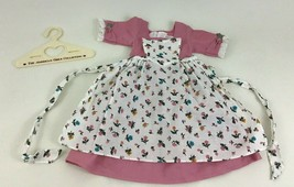American Girl Felicity Spring Gown Pinner Apron Pleasant Company Vintage... - $44.50