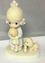 Precious Moments Something's Missing When You're Not Around 105643 Flowe... - $19.55