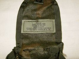 POUCH MOLLE FOR HAND GRENADE ORIGINAL WOODLAND CAMO MADE IN USA - $18.00