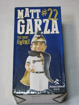 Matt Garza Milwaukee Brewers The Count Gnome 2015 MLB Baseball Figure St... - $18.99