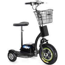 MotoTec Electric Trike 48v 500w Personal Transporter 3 Wheel Scooter up to 22MPH image 4
