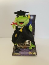 """2007 Gemmy Frogz Graduation """"Get This Party Started"""" Singing Dancing Toy... - $23.75"""
