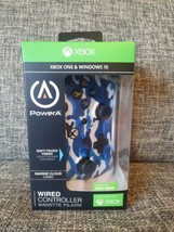 """PowerA Wired Stealth Controller for Xbox One """"NEW"""" - Blue Camo - $23.33"""