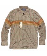Vintage Deadstock 1970's Disco Button Shirt Size XL Burma Cassini Long S... - $44.99