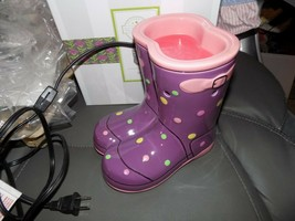 Scentsy Full Size Wellies Warmer EUC - $71.20