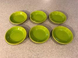 Set of 6 WAECHTERSBACH Germany Condiment Dish Fun Factory Freestyle Kiwi... - $39.99
