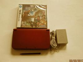 Red Nintendo New 3ds xl  9.2 Firmware w Phantasy Star Zero  & More!!! - $254.99