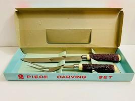 VTG Knife and Fork Carving Set/ Kitchen Utensils/ Gift Idea - $14.84