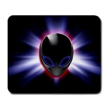 Mouse Pads Alienware Elegant Beautiful Computer Technology Blue Light Mousepads - $6.00