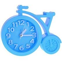Nostalgia Noiseless Alarm Clock Kids' Birthday Gift Student Clock Blue - $16.54