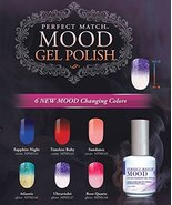 LeChat Gel Polish Mood Changing 2016 - 6 Colors (MG43 - MG48) - $79.15