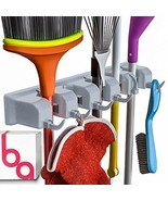 Berry Ave Broom Holder and Garden Tool Wall Mount, Organizer for Rake or... - €13,24 EUR