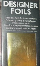 ClearSnap *DESIGNER FOILS ~ GOLD*  Design Adhesives/Glitter/Embossing Po... - $4.74