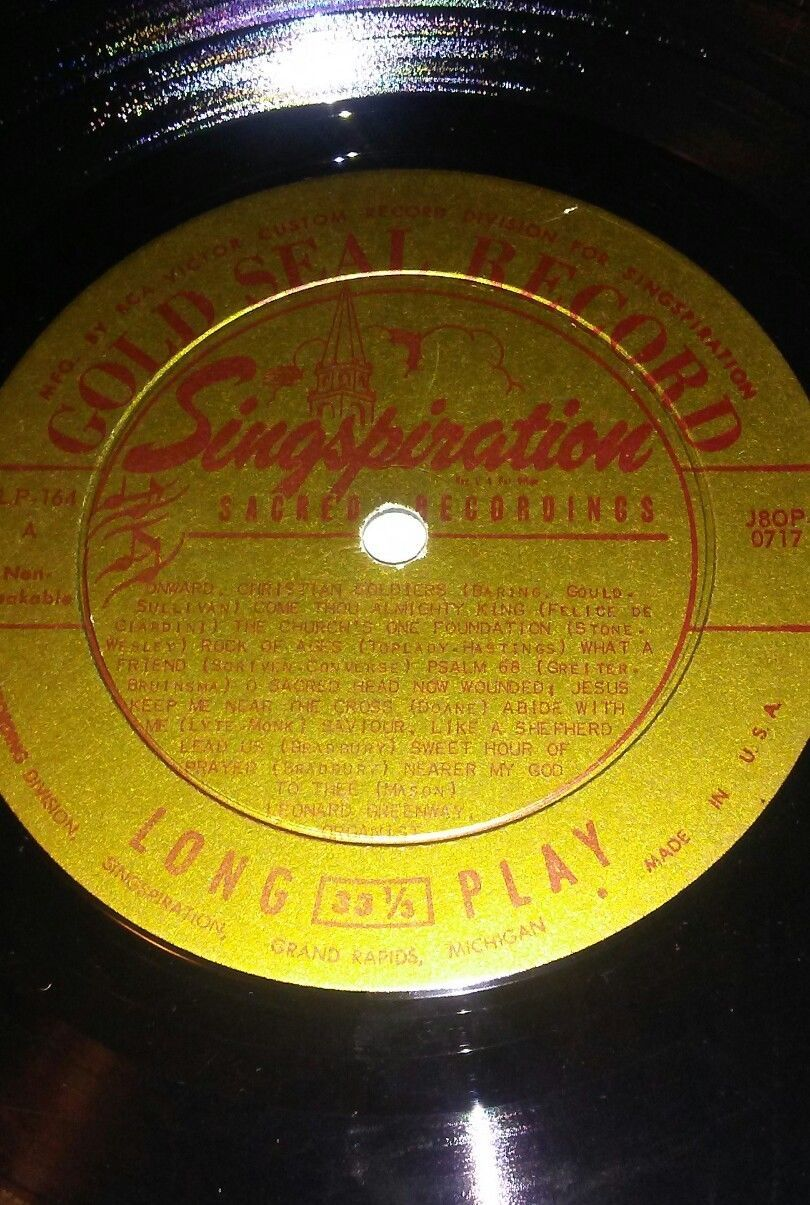 Leonard Greenway~Organ Reveries Vinyl Record