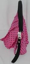 GANZ Brand Hot Pink Black Polka Dots iPad Tablet Skirt Carrying Case image 2