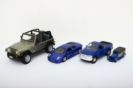 Maisto Lot of 4 cars - $20.29
