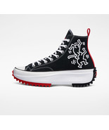 NIB*Mens*Converse Run Star Hike x Keith Haring *White Black*8-12*Sneaker - $190.00