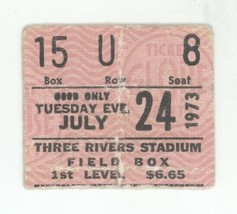 COOL Led Zeppelin 7/24/73 Pittsburgh PA Three Rivers Stadium Ticket Stub! - $98.99