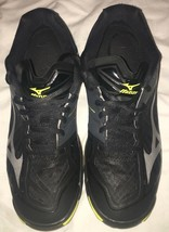 Mizuno Dynamotion FR Women's Volleyball Shoes Sz 7.5 Wave Lightning Black/ Yello - $35.63