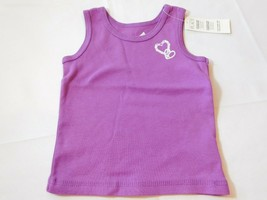 The Children's Place Baby Girl's Sleeveless Tank Top 6-9 Months Purple NWT - $15.51