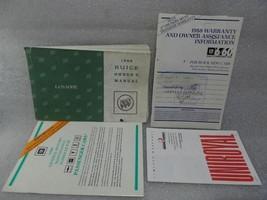 BUICK LESABRE   1988 Owners Manual 14734 - $16.78