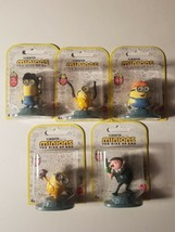 Minions Rise Of Gru Lot of 5 Mattel Figurines new in package  - $18.50