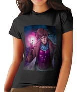 New Gambit in Action T Shirt Women Black - $15.20+