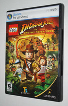 Lego Indiana Jones The Original Adventures Computer Game DVD Rated Every... - $14.80