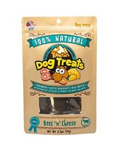 Tibetan Dog Chew 100% Natural Beef 'n' Cheese Dog Treats 3.5oz