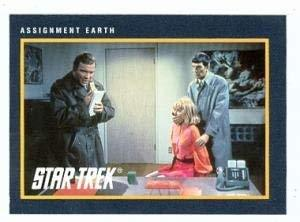 Primary image for Star Trek card #185 Assignment Earth Captain Kirk Spock