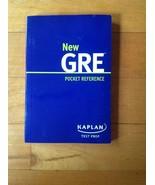 New GRE Pocket Reference Kaplan Test Prep - $11.86