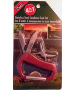 Camp 4 In i Stainless Steel Carabiner Set - $9.78