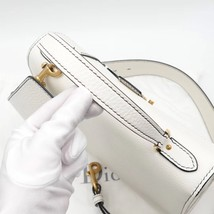 100% Authentic Christian Dior Addict Tote White Calfskin Bag GHW RARE image 5