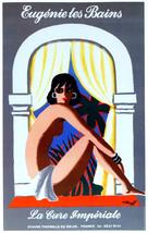 Eugå_nie les Bains la cure Imperiale Ad Decor Poster. Fine Graphic Desig... - $11.30+