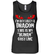 Im Actually A Dragon Funny Halloween Costume Tank - $21.99+