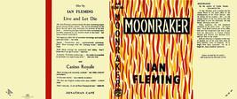 Fleming-Facsimile Polvere Copertura per 1st UK Edizione di Moonraker - $22.61